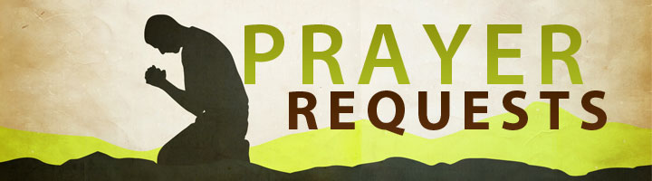 Prayer Requests - Ministry Of Healing