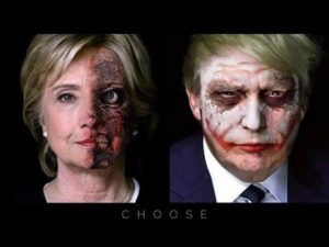 donald-trump-hilary-clinton-satanic-societies